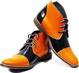 Peppeshoes Stiefel Italienisch Orange Modello Weiches Leder Chukka Alatri Schnüren Rindsleder Lederschuhe 46 Herrenschuhe Herren Handgemachtes Bunte Stiefeletten UwfBxqrUS