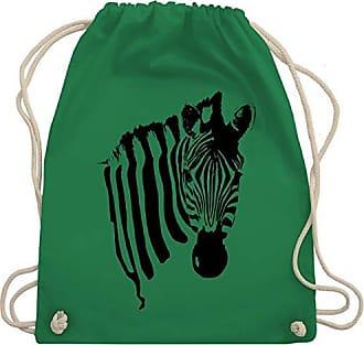 Zebra Bag Shirtracer Grün Unisize Turnbeutel Wm110 Gym amp; Wildnis HH5qrRwx8