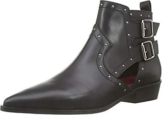 Damen Ikks 41 Rock 02 Eu Boots noir Schwarz Stiefeletten wfq6P
