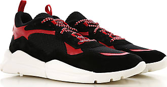 Suede On Sneakers Black Moncler For 2017 Sale Men 44 qfnwRAg