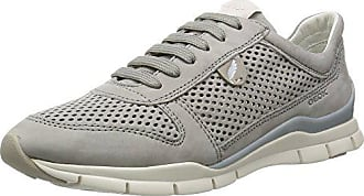 Grey Sukie Femme Eu Geox Sneakers D lt Basses 39 F Gris 1aHBw