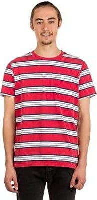 Knit Pocket T shirt Brixton Red Hilt Washed 2YeWDE9IH