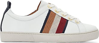 Bensimon Oeillets Baskets Tennis Élastique Blanc ww0TU1x