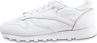 Reebok Leather Femme Baskets Classic Blanc Hw FcKJT1l