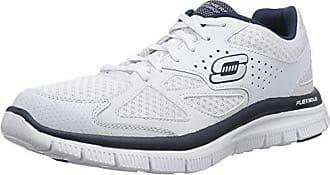 Blanc Advantage Plan Sneaker Homme 46 Flex Master Skechers Eu Chaussons wnv q5A0Ax