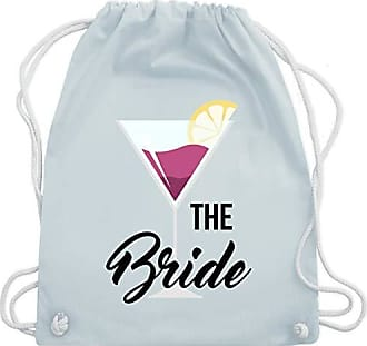 Wm110 Bag Bride Turnbeutel The Unisize Jga Cocktails Junggesellinnenabschied Blau Shirtracer Pastell amp; Gym C87qB