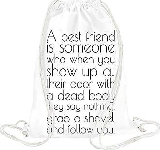 Slogan Someone Friend Is Bag Drawstring A Styleart Best qaw886