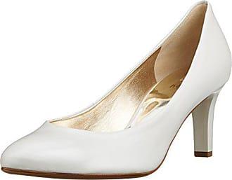 5 Högl perlweiß0300 38 3 Para 0300 Blanco Tacón Eu 10 Zapatos Mujer De 6003 v7rvPq