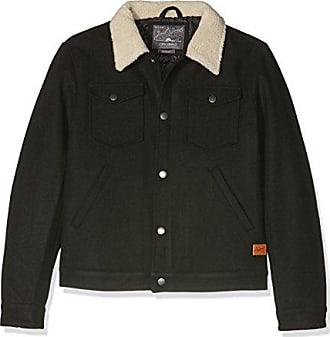Jones amp; Homme X Noir Blouson Jack Wool Jorglen Jacket black HfqAqx
