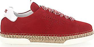 A0y550 Plateau Sneaker Veloursleder Rot Tod's BRg0wq5P