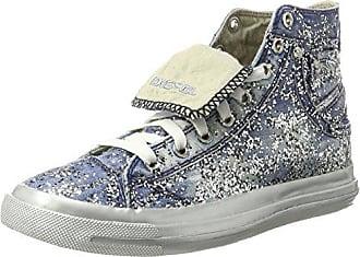 Iv Hautes snea indigo Eu Baskets Y00638 39 Femme Bleu Diesel T6067 Exposure Magnete W 0qEAFAw
