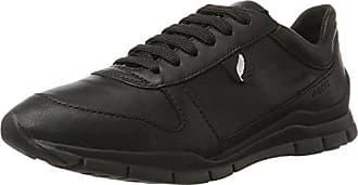 Geox Baskets A Femme 42 Sukie Eu Basses black D black Noir 1wrC1qO