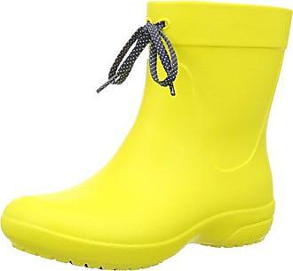 Rain Femme Jaune 37 Freesail Boots Bottes 38 Eu Shorty lemon Crocs XEFwAx