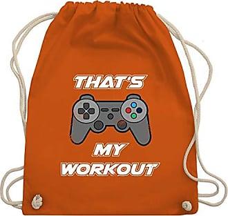 Turnbeutel Gaming Wm110 Gym My amp; Geeks Nerds Bag Shirtracer Thats Orange Unisize Workout a1WTvq44
