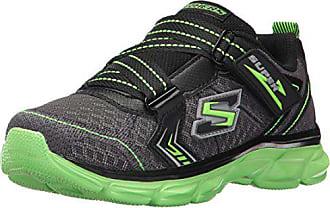 M Advance power black Little Kid Tread Us Boys SneakerCharcoal lime12 Skechers Kids O8wPXkn0