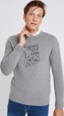 Pull Gris Jules Loup Homme Constellation XHCSqzw