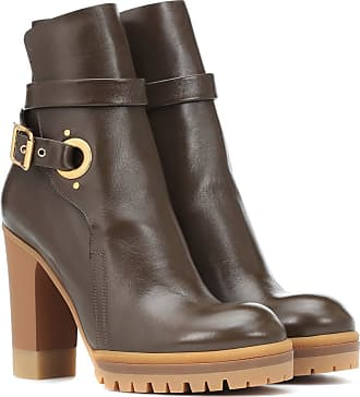 En Bottines Cuir Chloé Chloé Bottines tZxw4vzT