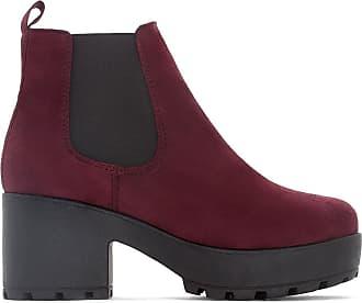 Coolway Boots À Bordeaux Rouge Talon Irby v0vAarF