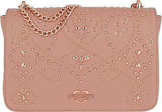 Bag Pu Studs Moschino Rosa Love Crossbody Umhängetasche wCqIaEOS5x