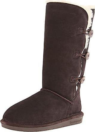 Distressed chestnut 221 Souples Clara Marron Femme Eu Bottes 37 Bearpaw CXq41wH