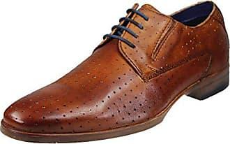 11 Cordones Hombre cognac Para Eu Bugatti 43 De 11446e Derby 3 6300 Marrón Zapatos TqfSE8