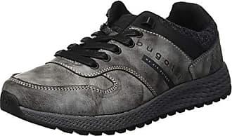 Eu Zapatos 321548015000 De Bugatti Para Cordones Gris 1500 44 grey Hombre Derby PH6O6