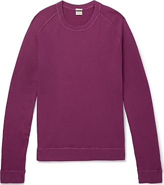 Alba Watercolour SweaterPurple dyed Massimo Cashmere PZuXOkiT