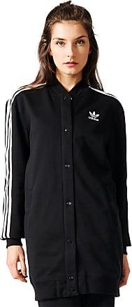 Noir Gr Long W Stripes Femmes 36 Eu Blouson 3 Adidas YFqw4q7