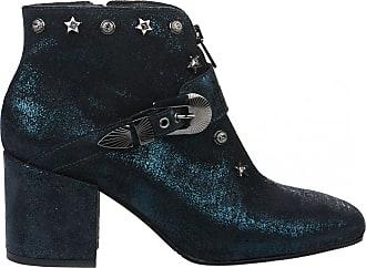 Femme 36 Bleu Più Donna Boots WBP8En