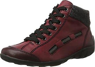 Eu 39 Rouge Hautes Sneakers Femme L6543 Rieker anthrazit wine wI0q8I