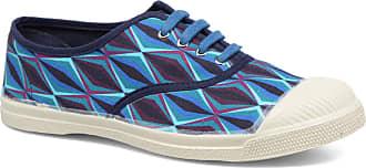 Bensimon Blau Losanges Sneaker Für Tennis Damen HqpHO4Bw