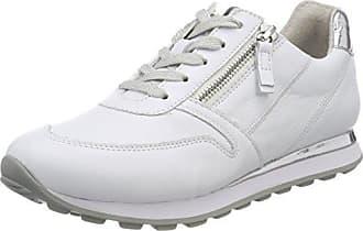 Comfort Derbys Blanc 5 Gabor Basic 40 Femme weiss silberlack Eu FqTwpnfwW