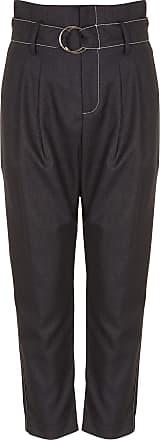 En Pantalon Ceinturé Haute Taille Suncoo Crêpe Droit wBd8qXxX