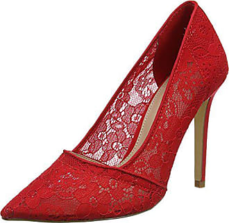 Fermé Escarpins Miss Bout Red Lace Eu 39 Selfridge Rouge Court Femme qxfF6