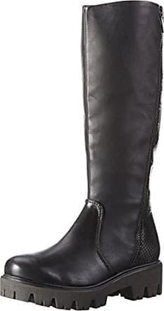 25628 Ant 096 black Femme Marco Noir Hautes Bottes Tozzi comb Eu 37 1xw0qTnfp5