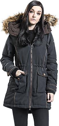 Schwarz CoatWintermantel Winter Fake Fur Surface Urban PXkOiuZ
