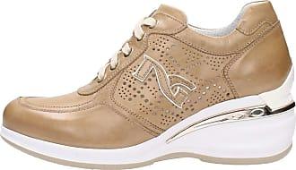 Femme 7052d Platine Giardini Nero Sneakers SOfY5n