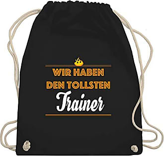 Trainer Schwarz amp; Gym Unisize Sportarten Turnbeutel Tollsten Wir Wm110 Den Haben Bag Sonstige Shirtracer CxnPYW