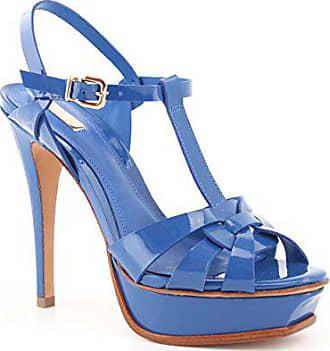 Femme santorini 40 Taille Bleu Schutz 42041020 Sandales Pour wqvAO