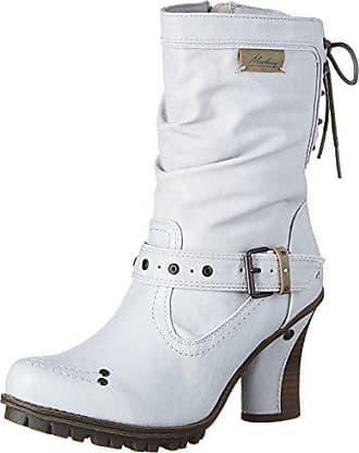 Eu Mustang white 613 Bottes 100 Femme Blanc 1141 40 off qSqOzHxf