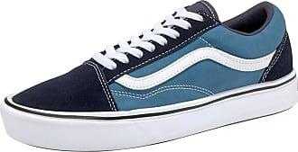 Weiß Comfy Nachtblau Vans Cush Himmelblau Sneaker Skool Old nTq707agw
