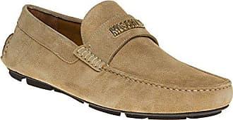 Herren Neutral Moschino Logo Driving Schuhe q0cZPxz4