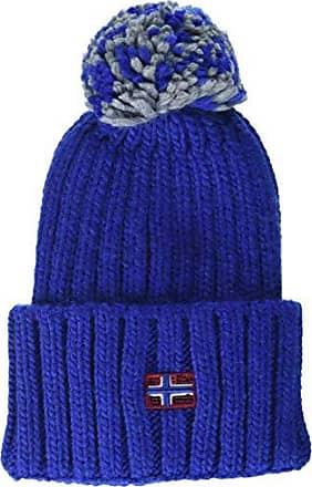 D Blu bright Itang Donna Berretto Unica Ba5 Produttore Cappello Napapijri Royal taglia IOqPx