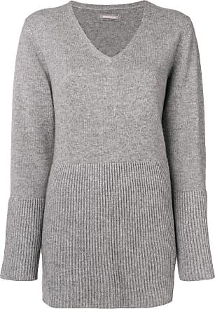 Hemisphere Hemisphere Flared Hem Gris Sweater Flared 6zq0x