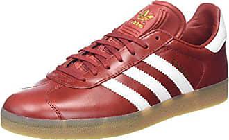 Mode 44 2 Homme Rouge Adidas 3 blanc Basket Gazelle qaCfxxwT1