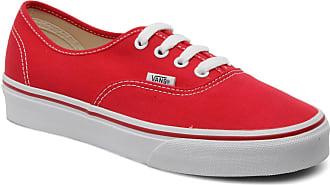 Authentic W Vans Rot Damen Sneaker Für PSWnnfU1