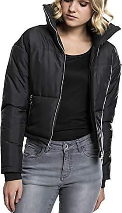 Blouson Femme Noir Classics Jacket Ladies Oversized Neck X 7 High small Urban x1qTZwYw
