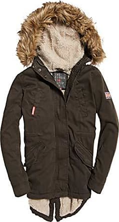 vintage Rookie Olive Superdry Medium Parka Mujer Classic Verde Be3 Fishtail xfwHq6YHgS