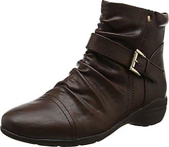 Marrón Color Ankle 39 Botas Chelsea Desconocido Mujer Talla Genericruched HgY4qxwTB
