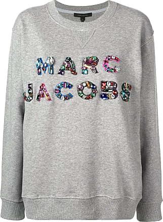 Gris Marc Jacobs Ornements Sweat À Logo rrXUTZ